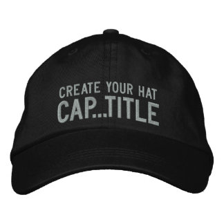 Create Your Own Cap in 2 easy steps Have Fun!