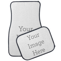Create Your Own Car Mat Set