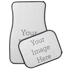 Create Your Own Car Mat Set at Zazzle