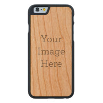 Create Your Own Carved Cherry iPhone 6 Case