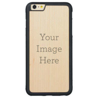 Create Your Own Carved Maple iPhone 6 Plus Bumper Case