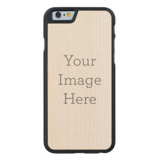 Create Your Own Carved Maple iPhone 6 Slim Case