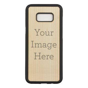 Create Your Own Carved Samsung Galaxy S8  Case by zazzle_templates at Zazzle
