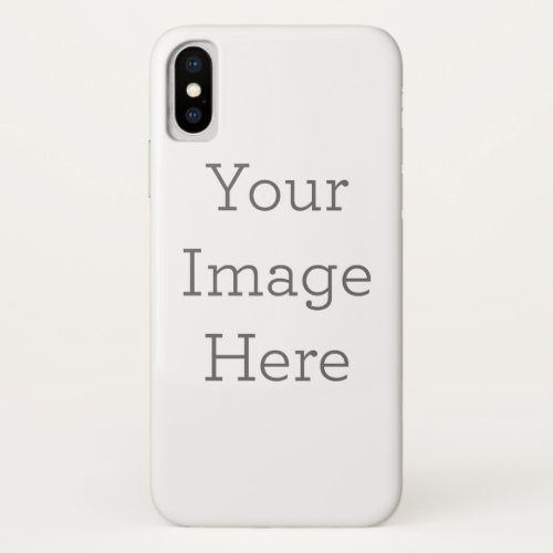 Create Your Own iPhone X Case