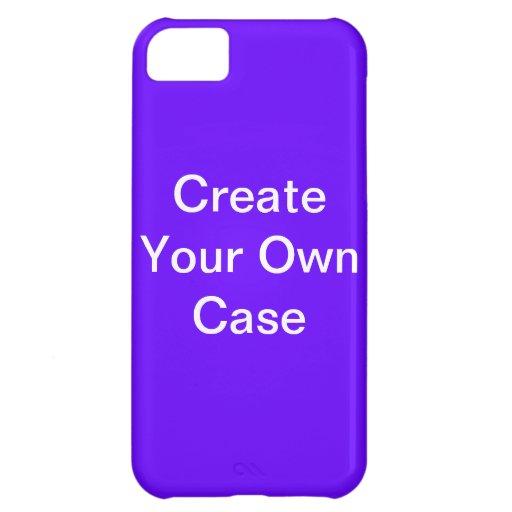 Create Your Own Case Purple Iphone 5c Case Zazzle