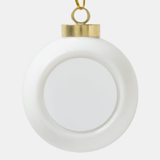 Create Your Own Ceramic Ball Ornament