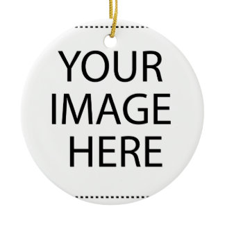 Create Your Own :) Ceramic Ornament