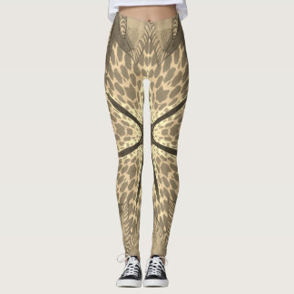 Create Your Own Cheetah Tear Marks Leggings