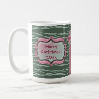 Create Your Own Christmas Holiday Family Photo Coffee Mug
