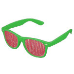Create Your Own Christmas Patterned Holiday Retro Sunglasses