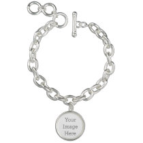 Create Your Own Circle Charm Bracelet