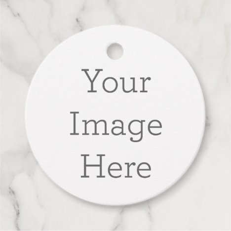 Create Your Own Circle Favor Tags
