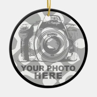 Create Your Own Circle Ornament Vertical Photo