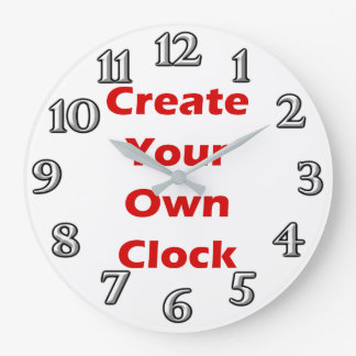 Create Your Own Clock Design