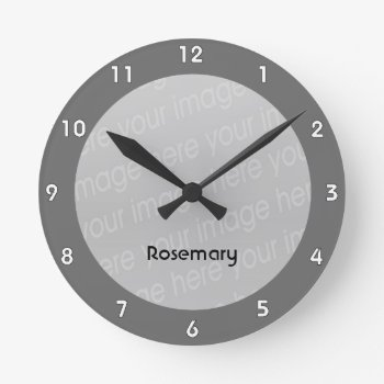 Create Your Own Clock - Style 1 by DigitalDreambuilder at Zazzle