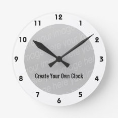 Create Your Own Clock - Style 10 at Zazzle