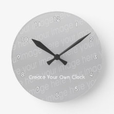 Create Your Own Clock - Style 2 at Zazzle