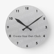 Create Your Own Clock - Style 3 at Zazzle