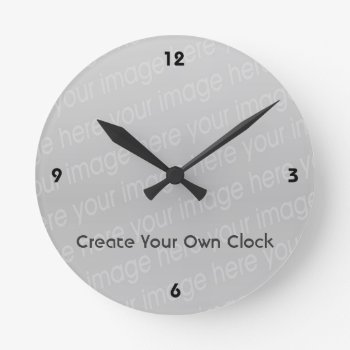 Create Your Own Clock - Style 4 by DigitalDreambuilder at Zazzle