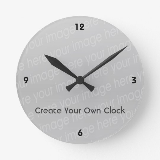 Create Your Own Clock - Style 4