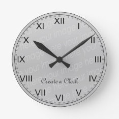 Create Your Own Clock - Style 6 at Zazzle