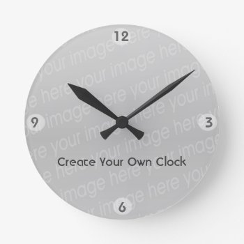Create Your Own Clock - Style 7 by DigitalDreambuilder at Zazzle