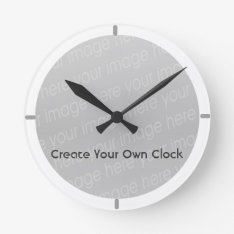 Create Your Own Clock - Style 9 at Zazzle