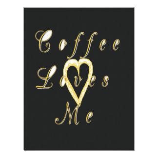 Create Your Own Coffee love me. Letterhead
