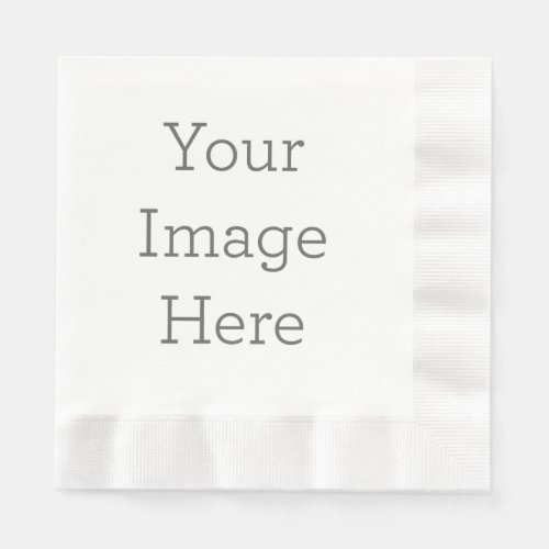 Create Your Own Coined Luncheon Paper Napkin