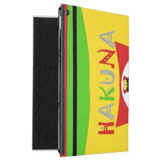 Create Your Own Colorful Hakuna Matata cute pretty iPad Pro Case