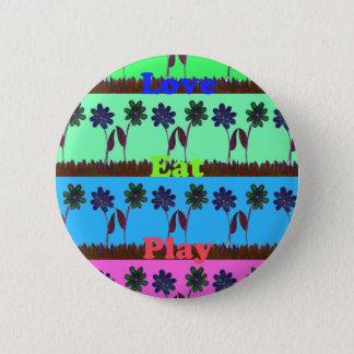 Create Your Own Colorful Hakuna Matata cute pretty Pinback Button