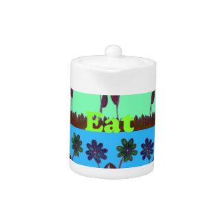 Create Your Own Colorful Hakuna Matata cute pretty Teapot