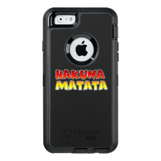 Create your own Colorful Hakuna Matata Electronics OtterBox Defender iPhone Case
