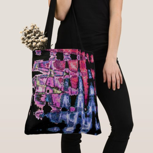 Create Your Own Colorful Water colors art design Tote Bag