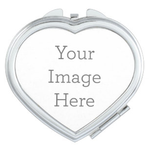 Create Your Own Compact Mirror Heart