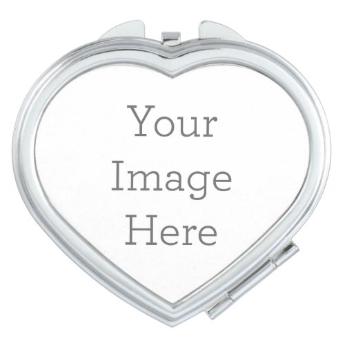 Create Your Own Compact Mirror _ Heart