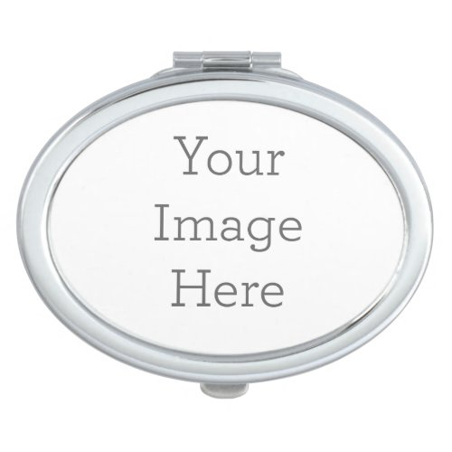 Create Your Own Compact Mirror _ Oval