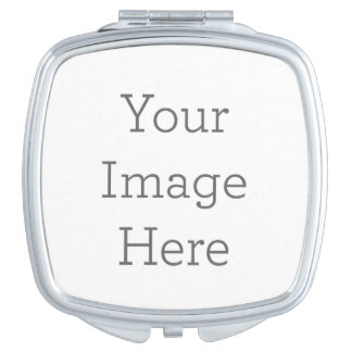 Create Your Own Compact Mirror - Square