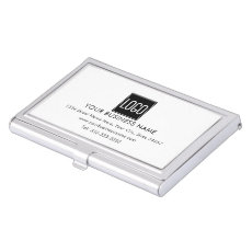 Create your Own | Company Logo Business Card Case