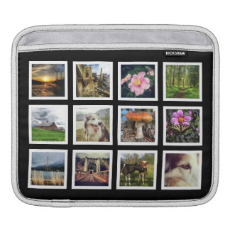 Create Your Own Cool Instagram Photo Collage Sleeves For iPads