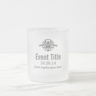Create Your Own! Corporate Event Glass Mug