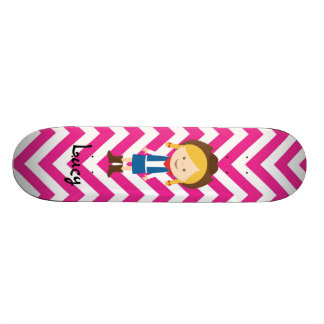 Create your own Cowgirl Skateboard