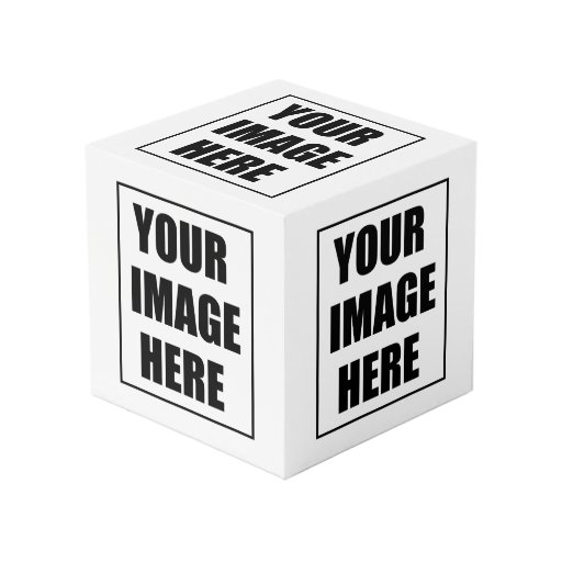create your own cube zazzle