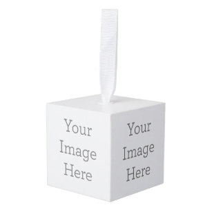 Create Your Own Cube Ornament