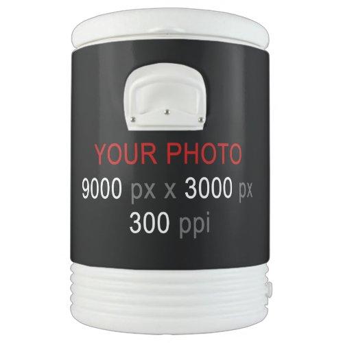 Create Your Own Custom 10 Gallon Igloo Cooler