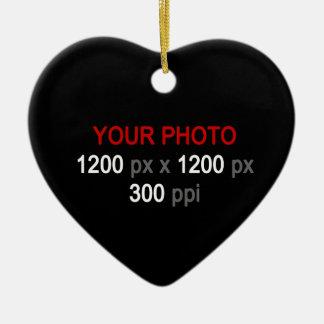 Create Your Own Custom 1 Photo Ornament