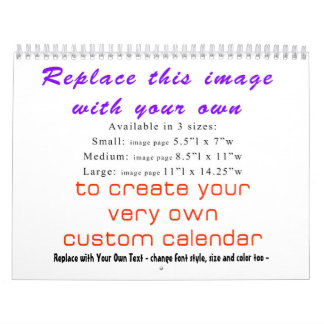 Create YOUR OWN Custom 2018 DIY Calendar