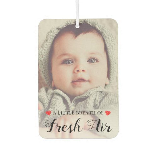 Create your Own  Custom 2 Photo Air Freshener