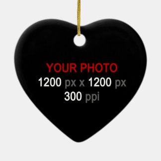 Create Your Own Custom 2 Photos Ornament