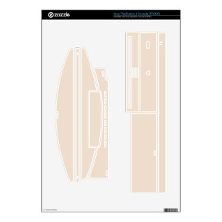 Create Your Own Custom Almond Beige PS3 Console Skin